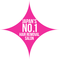 Japan's No.1 Hair Removal Salon